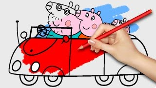 Video NEW! Peppa Pig Coloring Pages for Kids Coloring Games Part 24 - Coloring Book MP3, 3GP, MP4, WEBM, AVI, FLV Juli 2017