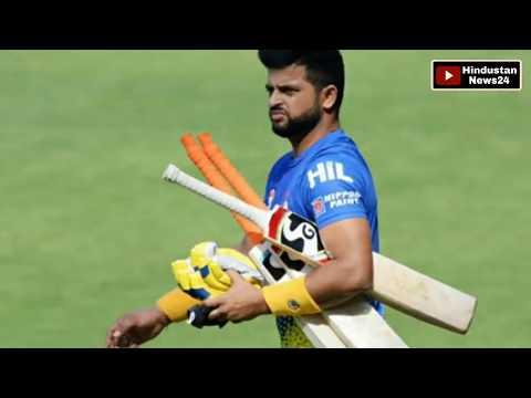 IPL 2019   Chennai Super King's   Suresh Raina scored a century in practice match