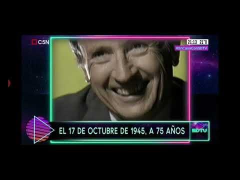 17 de Octubre de 1945. Sobredosis de TV. #SDTV 17/10/20