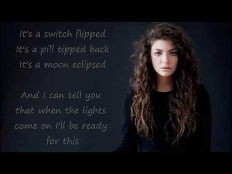 Lorde – Bravado (lyrics)