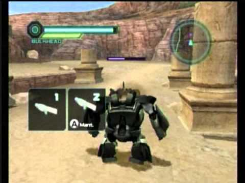 transformers prime the game wii youtube