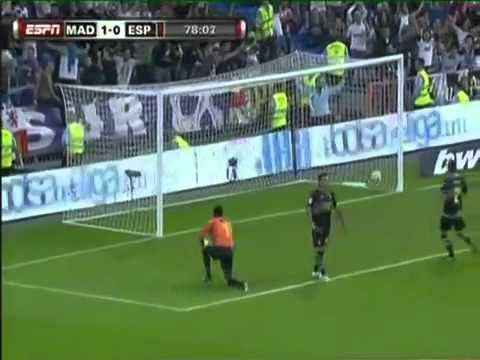 Real Madrid vs Espanyol 3-0 All Goals & Highlights 9/21/10