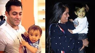 Video Salman Khan's Sister Arpita Khan's CUTE Son Ahil At Helen's Birthday Party 2017 MP3, 3GP, MP4, WEBM, AVI, FLV Januari 2019
