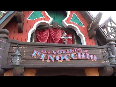Les Voyages de Pinocchio at Disneyland Paris – Full Ride-Through Experience HD Oct 2014