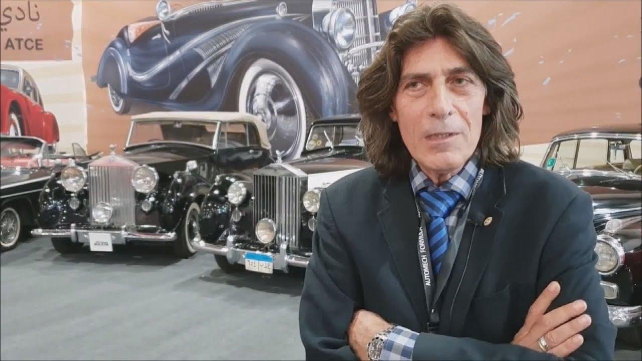 Αίγυπτος: Ένας Έλληνας του Καΐρου, ο Άγγελος Αθανασούλης, στην 25η Διεθνή Έκθεση Αυτοκινήτου Καΐρου