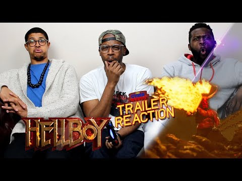 Hellboy Red Band Trailer Reaction