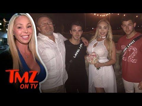 Kevin & Nick Jonas Crash Ex-Pornstar's Wedding | TMZ TV