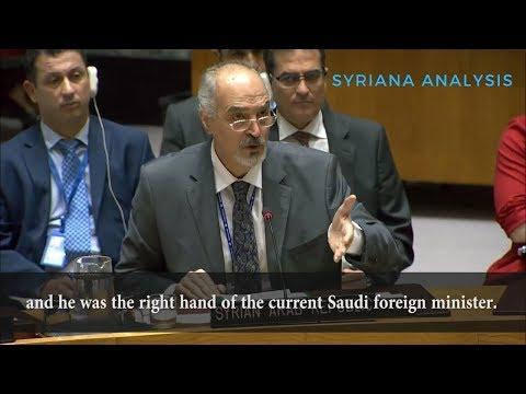 Реакция представителя Сирии при ООН на требование Саудовской Аравии создать новую конституцию Сирии