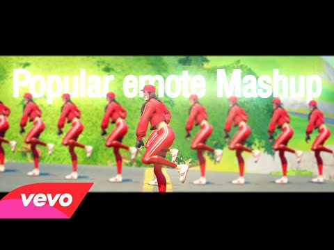 Fortnite - Popular Emotes Mashup V2 (Fortnite Music Video) | Savage, Don't Start Now, Rollie..