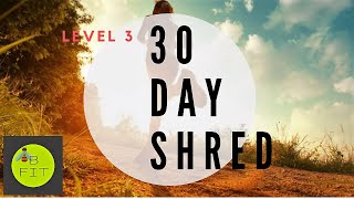 30 Day Shred Level 3