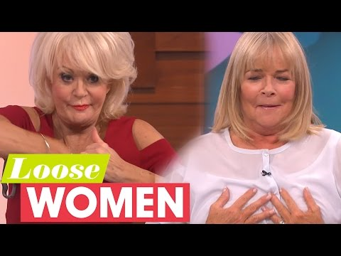 Sherrie Hewson And Linda Robson Take Their Bras Off Live On Air! | Loose Women