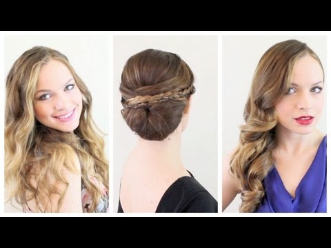 3 Valentines Hairstyles for Every Occasion!