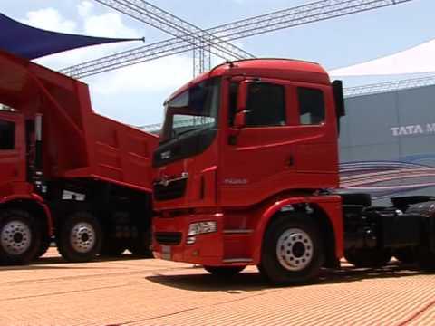 Nieuwe trucks van TATA Motors