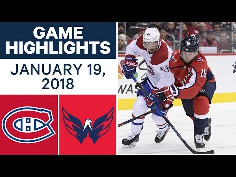 Video: NHL game in 4 minutes: Canadiens vs. Capitals