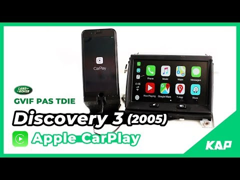 LAND ROVER D3 2005 - Apple CarPlay !