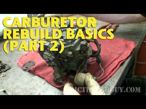Basics - Here's Part 2 of the Carburetor Rebuild Basics video. Here's a link to part 1 in case you missed it. https://www.youtube.com/watch?v=85nszLpbbXY Carburetor Rebuild Basics covers the basics...