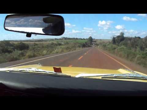 Charger R/T V8 318 viajando para Encontro de Antigos em Ajuricaba/RS