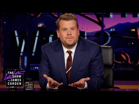 James Corden's Message to London (видео)