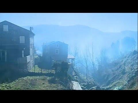 Στις φλόγες παραδόθηκαν χιλιάδες στρέμματα στην Κορσική…