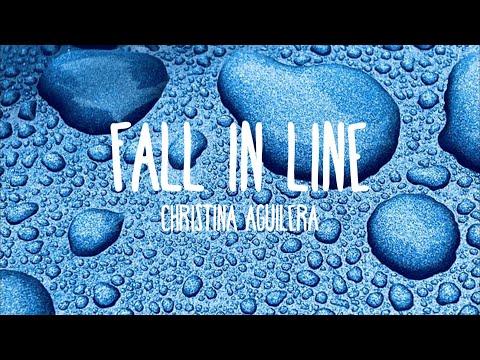 Video Christina Aguilera - Fall In Line ft. Demi Lovato (Lyrics) download in MP3, 3GP, MP4, WEBM, AVI, FLV January 2017
