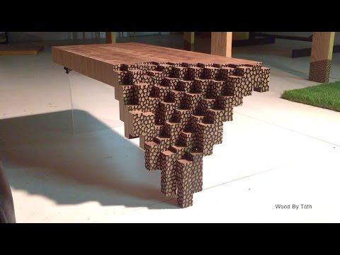 Falling Brick Coffee Table