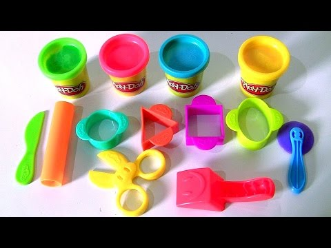 Play-Doh Starter Set Review by Disney Kids Toy Channel Funtoys