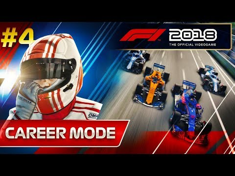 F1 2018 Career Mode Part 4: I NEVER THOUGHT THIS WOULD HAPPEN (видео)