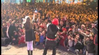 Greta Koci,Noizy,Eni Koci Te Ftuar Ne Koncertin E Fundvitit 2011 Ne Qytetin E Librazhdit .