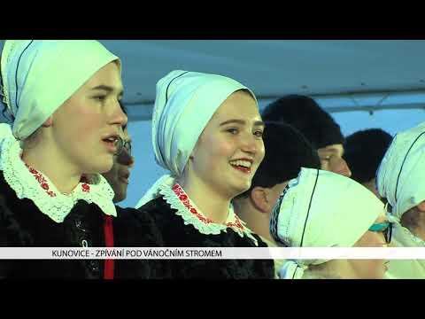TVS: Kunovice - Zpívání pod vánočním stromem