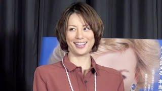 米倉涼子/『ダイアナ』日本語吹替版公開アフレコ取材