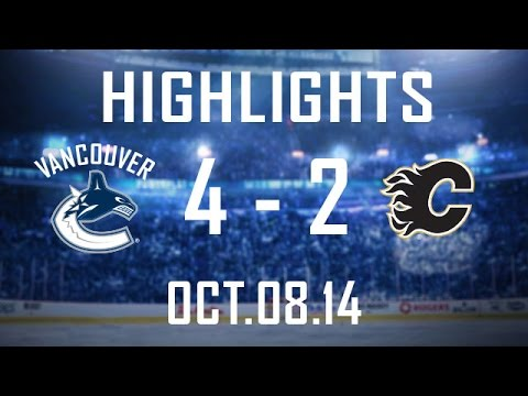 Canucks - Vancouver gets off to a good start as Vrbata nets the winner and Henrik Sedin gets an empty netter that you'll want to see. The Canucks defeat the Flames in ...