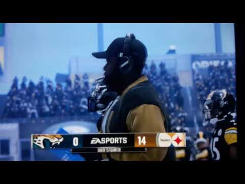 Jaguars @ Steelers Divisional Round Playoffs Madden 18