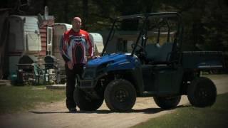 4. Dirt Trax Test Rides 2010 Polaris Ranger EV