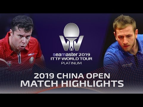 Vladimir Samsonov Vs Pavel Sirucek | 2019 ITTF China Open Highlights (Pre)