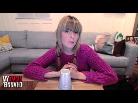 cup - DailyGrace attempts The Cup Song. SUBSCRIBE YOU GORGEOUS POPSICLES! http://www.youtube.com/dailygrace http://www.youtube.com/MyDamnChannel http://www.youtube...