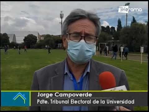 Se realiza elecciones para rectorado para rectorado de la Universidad de Cuenca