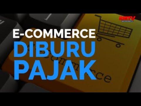 E-Commerce Diburu Pajak