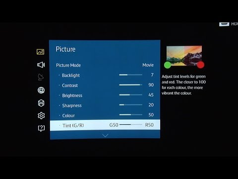 Samsung UE78JS9500 4K SUHD TV Picture Settings