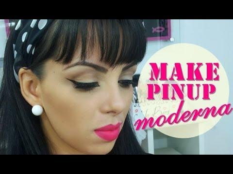Maquiagem Pinup moderna