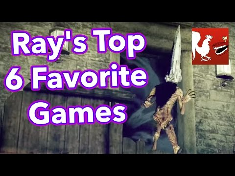TOP - Join Geoff, Michael, and Gavin as they go over Ray's top 6 favorite games. RT Store: http://roosterteeth.com/store/ Rooster Teeth: http://roosterteeth.com/ Achievement Hunter: http://achievement...
