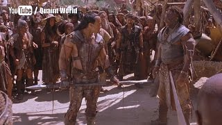 The Rock Vs Michael Clarke Duncan Fight Scene | Dwayne Johnson The Scorpion King Movie Clips