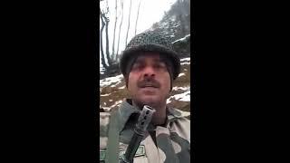 Tej Bahadur Yadav BSF jawan Video