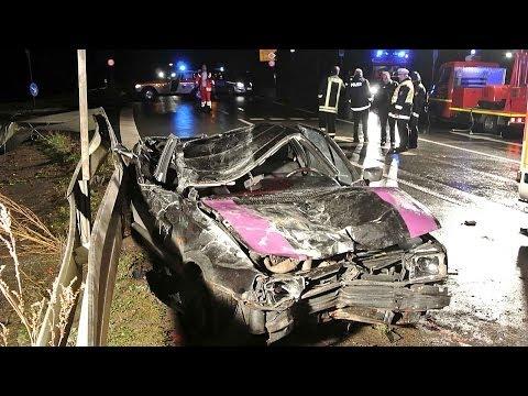 Schwerer Verkehrsunfall bei Wetterburg