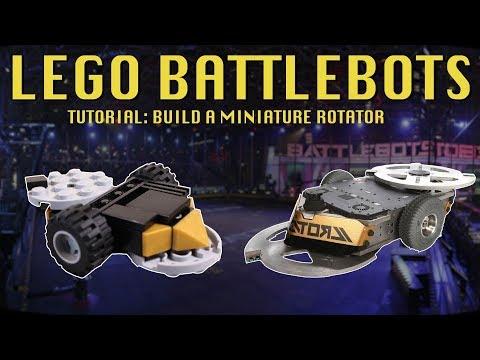 Lego Battlebots Episode 5   Build Rotator