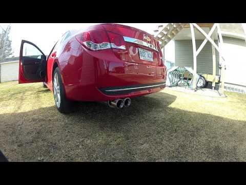 2012 chevrolet cruze magnaflow  14805 exhaust properly recorded (видео)