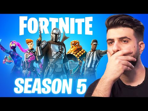 Our FIRST LOOK At Fortnite Season 5!