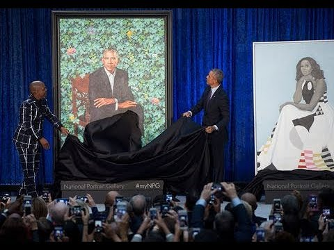 About That Sunken Place Obama Portrait