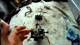 8. Banshee Carb Cleaning and Rebuild Mikuni