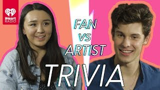 Video Shawn Mendes Challenges A Super Fan In A Trivia Battle | Fan Vs. Artist Trivia MP3, 3GP, MP4, WEBM, AVI, FLV Januari 2019