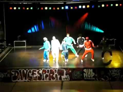 Команда Street4onE на NK HipHop 2009 (1 место)